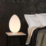 lampe de chevet / contemporaine / en verre soufflé / sculpturale