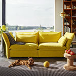 Canapé contemporain / en tissu / par Edward Barber & Jay Osgerby / 2 places MARIPOSA vitra USA