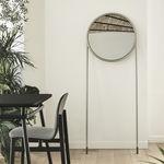 miroir mural / psyché / de chambre à coucher / contemporain