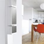 coffret électrique mural / à usage résidentiel / équipé / avec porte