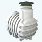 cuve enterrée / de stockage d'eau / en polyéthylène