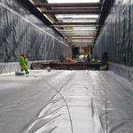 Géomembrane pour tunnel / imperméabilisant FLAGON® BT SOPREMA