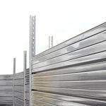 Clôture pour chantier / à panneaux / en acier galvanisé / modulaire  MARCEGAGLIA