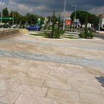 dallage en pierre naturelle / pour espace public