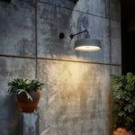 applique murale contemporaine / d'extérieur / en polyéthylène / en métal