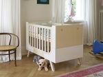 Lit simple / contemporain / en bois / pour bébé FAMILLE GARAGE by Alexander Seifried Richard Lampert