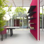 panneau pour agencement intérieur / en fibre de bois / en polyester