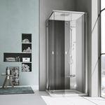 cabine de douche multifonction / à vapeur / en verre / en acrylique