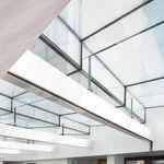 cloison fixe / vitrée / à usage professionnel / translucide