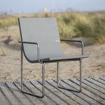 chaise design Bauhaus / avec accoudoirs / ergonomique / recyclable