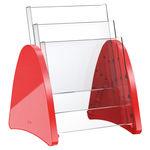 Présentoir sur plan / pour brochures / en plastique / à usage professionnel H62705 Helit