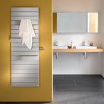 sèche-serviettes électrique / en métal / contemporain / de salle de bain