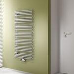Sèche-serviettes à eau chaude / en métal / contemporain / de salle de bain DIVEO KERMI