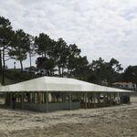 membrane architecturale en toile / pour structure tendue / pour couverture