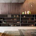 bibliothèque modulable / haute / basse / contemporaine