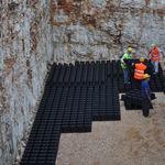 cuve enterrée / de récupération d'eau de pluie / en PP