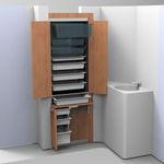 armoire à pharmacie à poser / professionnelle