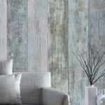 lambris mural / en PVC / 3D / vieilli