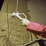 isolant pour protection incendie / thermo-acoustique / en vermiculite / pour intérieur