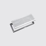 caniveau pour espace public / en métal / avec grille / de protection