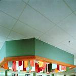 Faux-plafond en fibre de verre / en panneau / acoustique HI-LITE™ USG