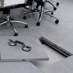 Dalle de faux plancher en grès cérame / résistante à la chaleur PTS Mirage Granito Ceramico