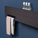 sèche-serviettes à eau chaude / électrique / en aluminium / contemporain