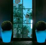 Bac à fleurs en plastique / rond / contemporain / à usage résidentiel HAPPY Altatensione