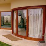 Baie vitrée levante-coulissante / en bois / en aluminium / à double vitrage S.15 Panda Windows & Doors