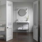 miroir de salle de bain mural / contemporain / rond / en acier