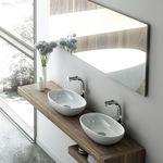 Vasque double / à poser / ovale / en résine BARCELONA: 48 Victoria + Albert