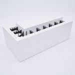 bloc de coffrage en polystyrène / pour mur / béton / isolant
