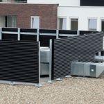 bardage en aluminium / nervuré / en panneau / pour façade ventilée