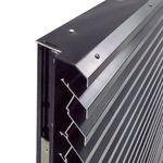 porte d'entrée / à pivot / en métal / de sécurité
