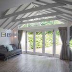 baie vitrée pliante / en bois