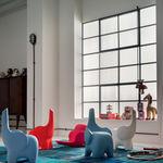 Tabouret design original / en plastique / pour enfant / bleu TINO  Myyour