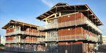 bâtiment préfabriqué / pour logement collectif / en bois / à ossature bois