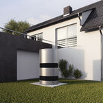 pompe à chaleur aérothermique / résidentielle / professionnelle / d'extérieur