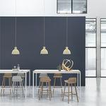 table mange-debout design scandinave / en bois / en aluminium / rectangulaire