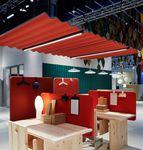 panneau acoustique pour plafond / en tissu / en feutre / coloré