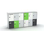 casier vestiaire en métal / à code / pour stockage