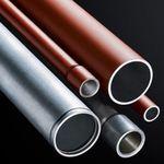 canalisation en métal / perforée