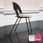 Chaise visiteur / contemporaine / en plastique / à usage professionnel PAIR Fritz Hansen