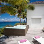 piscine hors-sol / en osier / en acier inoxydable / autoportante