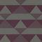 tissu d'ameublement / à motif géométrique / en polyester / en coton