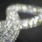 Lustre contemporain / en cristal / en acier inoxydable poli / à LED INFINITY Manooi