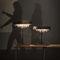 Lampe de table / contemporaine / en cristal / fait main TONDO T Manooi