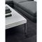 table basse contemporaine / en verre / en marbre / en tissu