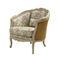 fauteuil de style Louis XV / en tissu / bergère