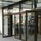 porte d'entrée / battante / en aluminium / vitrée